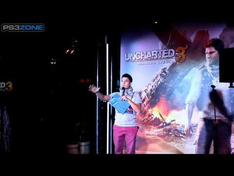 Видео с презентации Uncharted 3