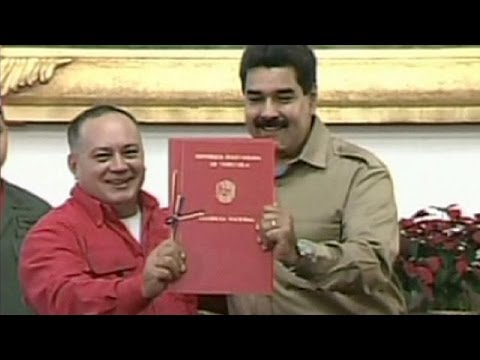 Venezuela's Maduro assumes decree powers 'to fight corruption'