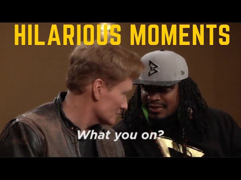 Marshawn Lynch HILARIOUS Moments (VERY FUNNY)