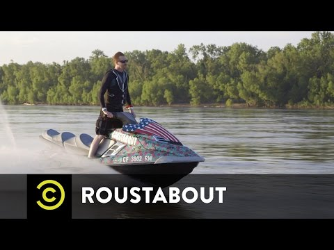 Roustabout - One Man. One Cause. One Jet Ski.