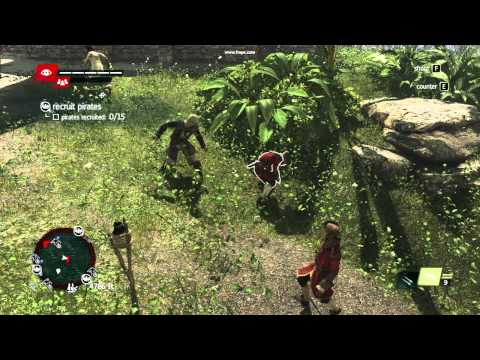 Assasin Creed 4 Black Flag saçma sapan dövüş :D ASUS EAH 6850