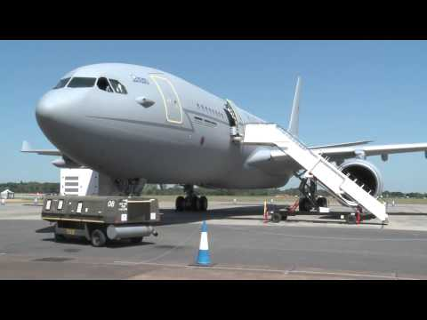 Inside RAF Voyager at RIAT