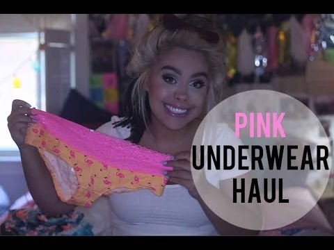 Underwear Haul?!????!!? (Pink, Forever 21, and H&M) I NicoleMatthews I
