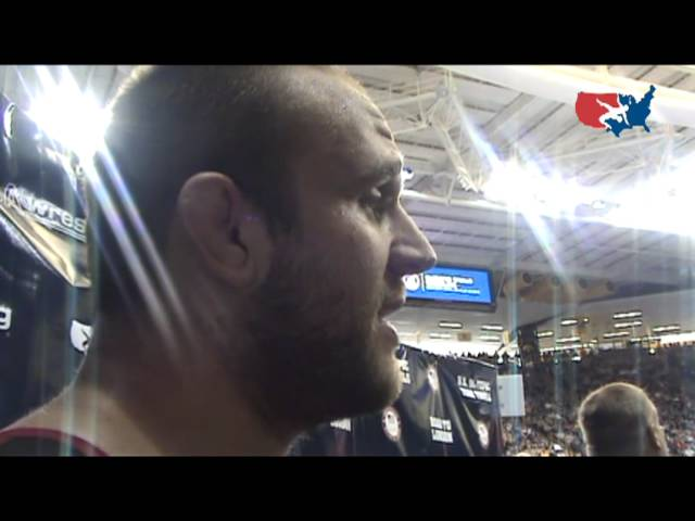 Tervel Dlagnev after semi-final win