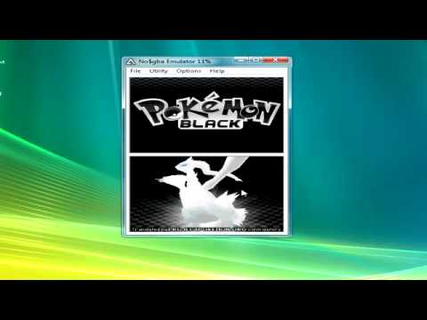 How To Make Pokemon Black And White Work On No$Gba (And You Can Save) (Tutorial)
