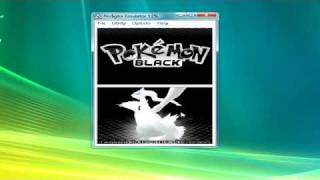 How To Make Pokemon Black And White Work On No$Gba (And