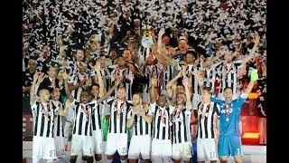 Juventus lift their fourth consecutive Coppa Italia!
