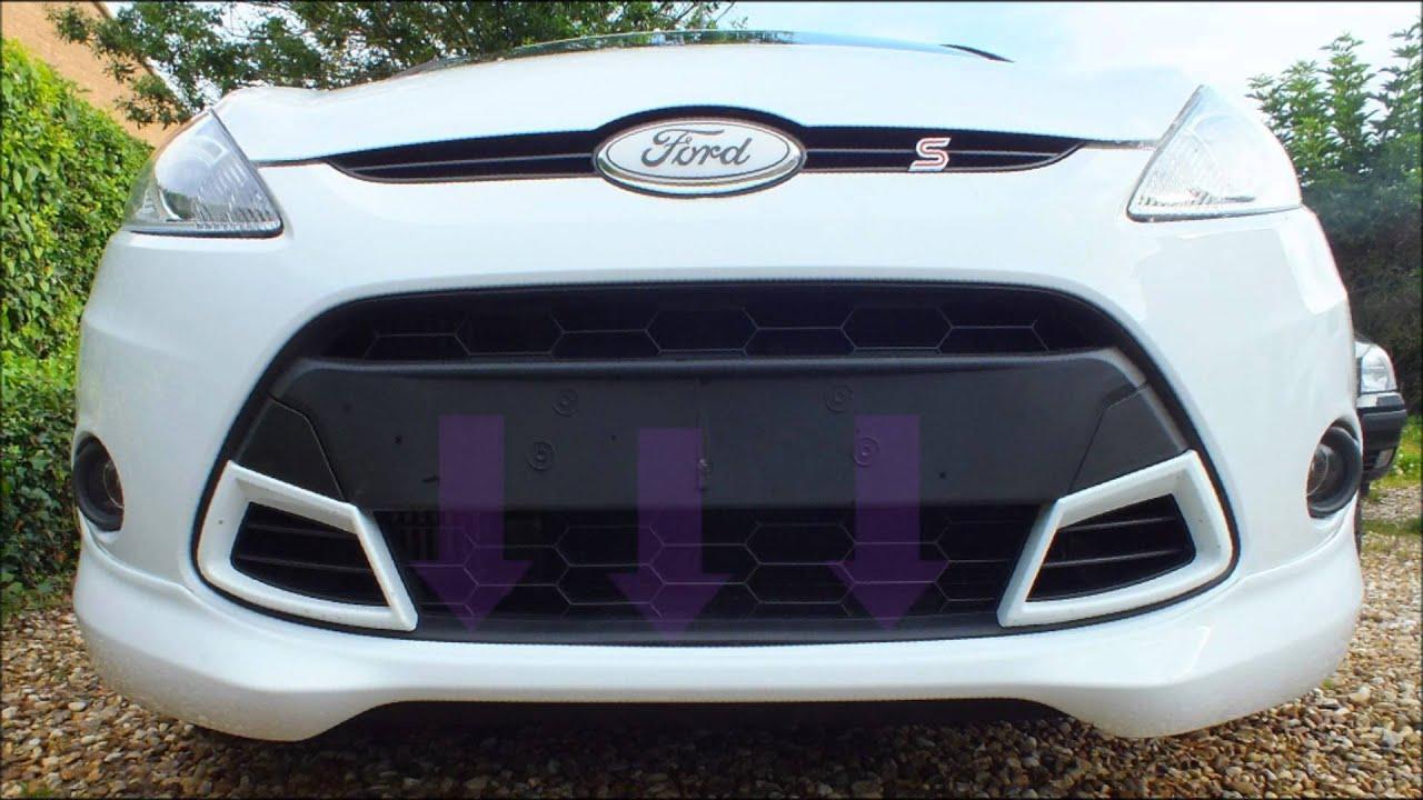 Ford Fiesta MK7 (2008-Present) Grill Removal + Swap (Asian/Australian