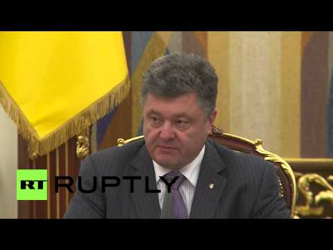Ukraine: Poroshenko announces potential ceasefire plans