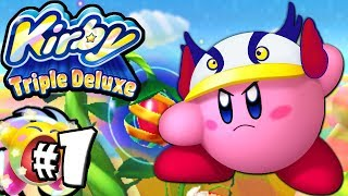 Kirby Triple Deluxe: Hypernova Super Ability! World 1 PART