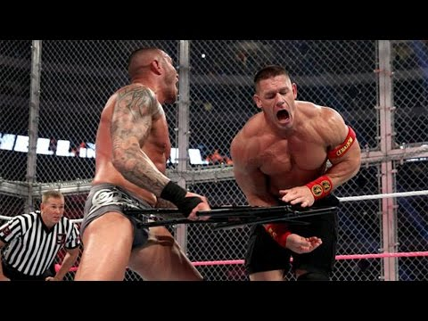 WWE Hell in a Cell 2014 - John Cena vs Randy Orton - HIAC Full Match HD!