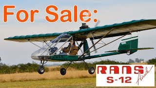 Rans S-12 XL Airaile For Sale! $14,500 (Eugene, Oregon)