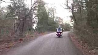 Goldwing 1800 & Yamaha V-Star On Texas Motorcycle Roads