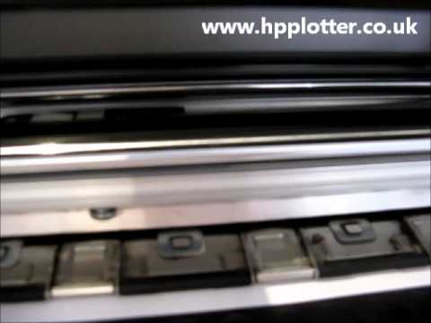 Designjet 5000/5500 Series - Check printhead path error on your printer