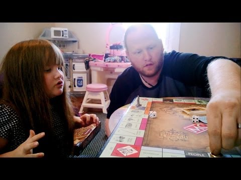 Lord of the Rings Monopoly (We Take This Game Seriously!)