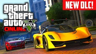GTA 5 Online: NEW Rare Car DLC! Plane DLC & More! (GTA V