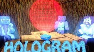 Minecraft HOLOGRAMS MOD Showcase! (RANDOM MOD, HOLOGRAM MOD)