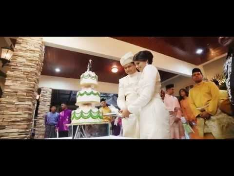 The Malay Themed Wedding Reception of Shamir & Fairuz by Digimax Video Productions