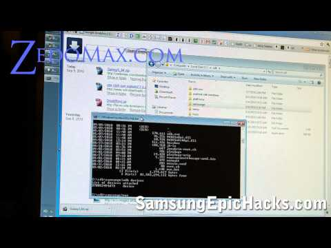 Samsung Epic Hacks - How to Root Your Samsung Epic 4G!