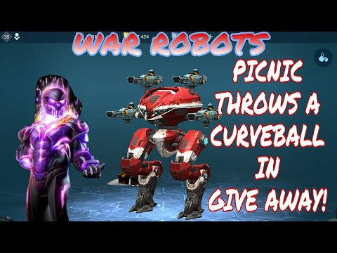 War Robots - Pixonic Throws A Curveball In The Give Away!