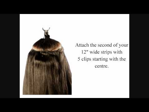 Additional Lengths Full Set Clip-In Extensions