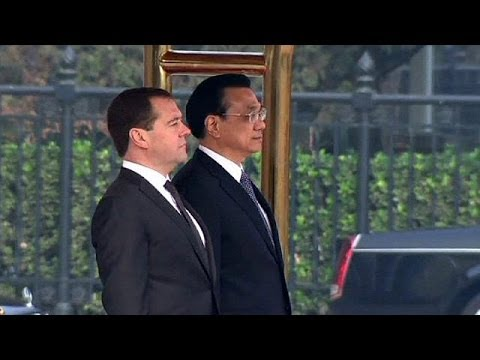 Russian PM Dmitry Medvedev visits China to boost strategic ties