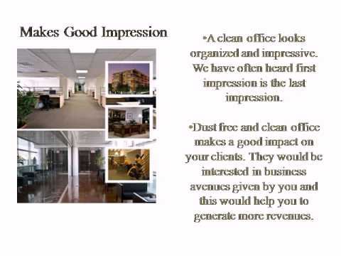Benefits of Commercial Office Cleaning Services
