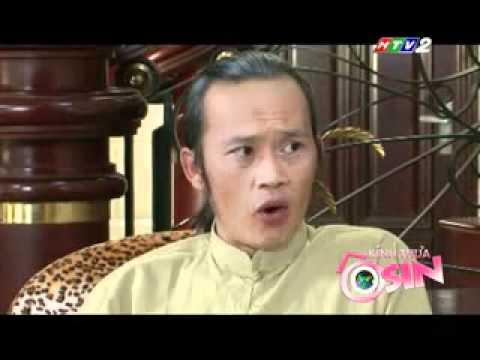 Hồng Ánh diễn hài bên Hoài Linh
