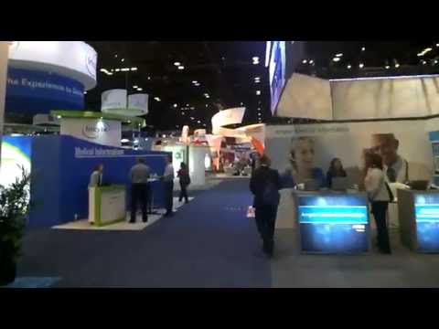 Google Glass Tour of ASCO Exhibit Hall (American Society of Clinical Oncologty)