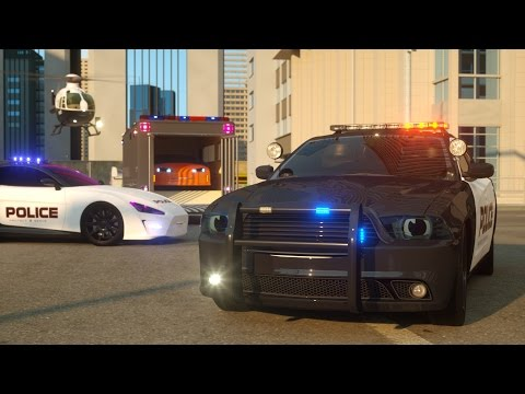Sergeant Cooper the Police Car - Real City Heroes (RCH) - Videos For Children