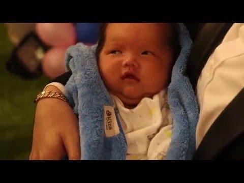 Phi Thanh Vân tổ chức tiệc mừng đầy tháng con trai Nguyễn Tấn Đức