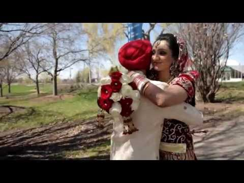 Nikita & Paul | NDE | Sikh Wedding Highlights 2014 by AVP Studios Canada