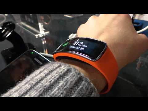 Samsung Galaxy Gear Fit Hands On