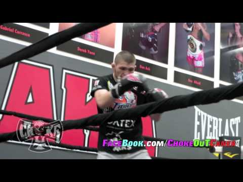 Khabib Nurmagomedov shadow boxing by ChokeOuT Cancer