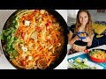 ONE POT RED CURRY NOODLES RECIPE Vlogmas Day 8