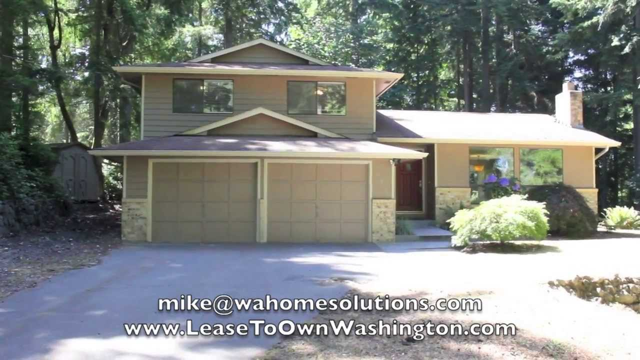 rent2own instant access to hwy 16 of rental homes in gig harbor