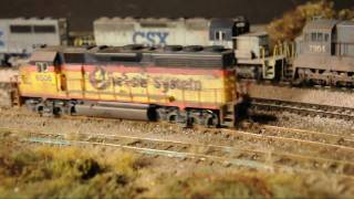 HD Video: Very Realistic Model Railroad With Awful Track