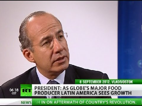Calderon: Mexican drug gangs thrive on bloated US  image