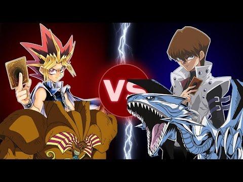 Vua Trò Chơi Yugioh Tập 1   Trận chiến giữa Yugioh Với Kaiba và Thần Exodia vs Rồng Trắng Mắt Xanh