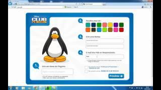 Como Criar Conta No Club Penguin