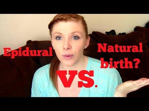 Natural Water Birth Vs Epidural