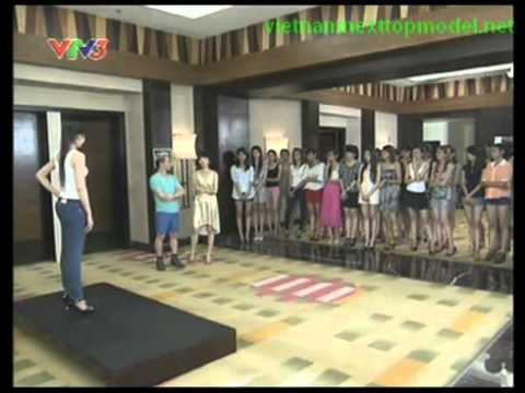 Viet nam next top Model 2012 tập 3 full (2/9/2012)