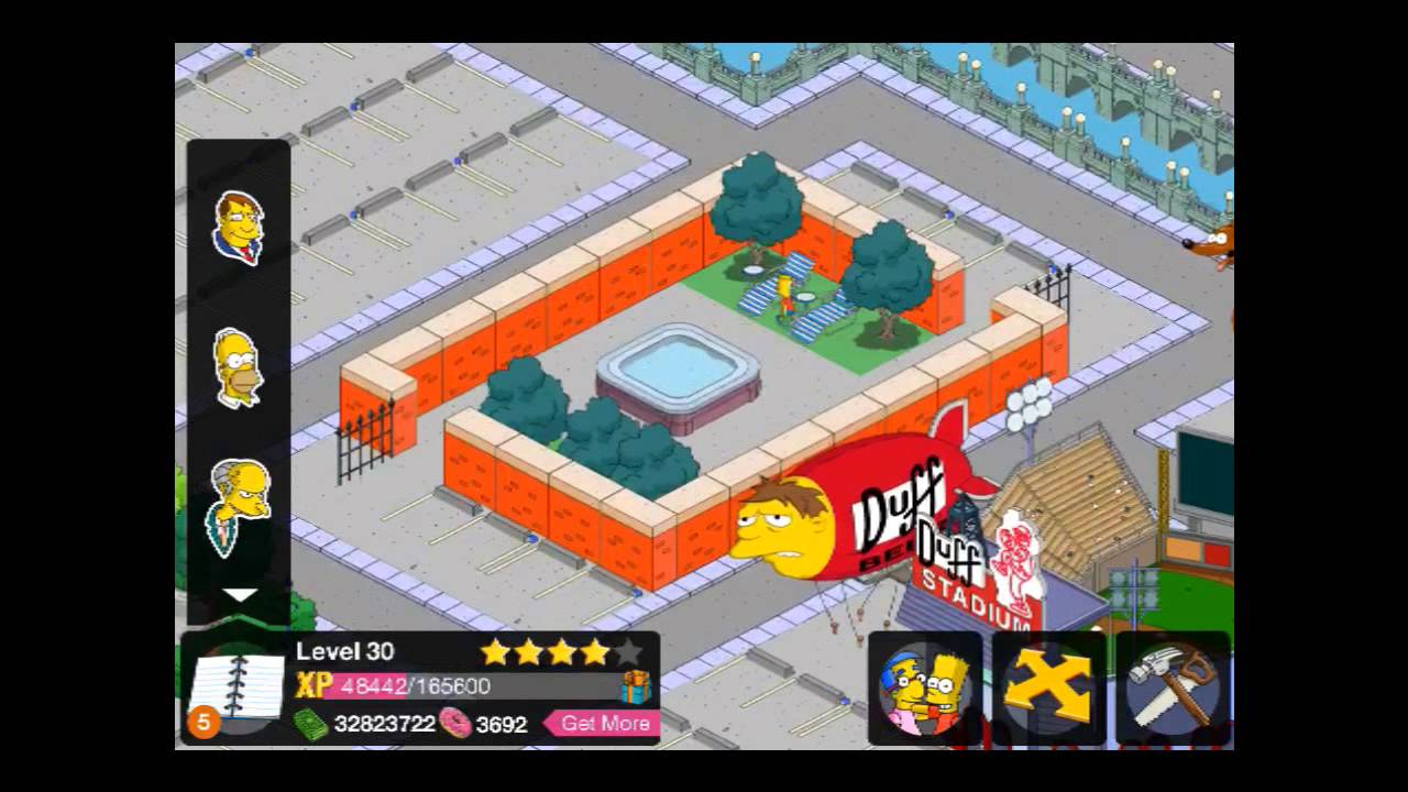 tapped out update for kindle fire buildings the simpsons tapped out