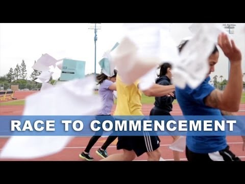 Race to Commencement: UC Riverside's 2013 Commencement Video