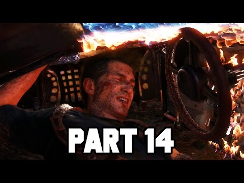 BEST CHASE SCENE IN GAMING!! Uncharted 4 Gameplay Walkthrough Part 14 - Chapter 11 (PS4 1080p HD)