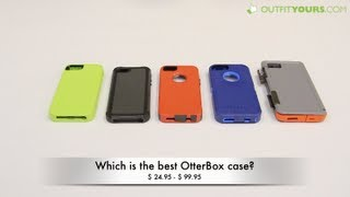 Which Is The Best OtterBox Case For IPhone 5S And IPhone 5