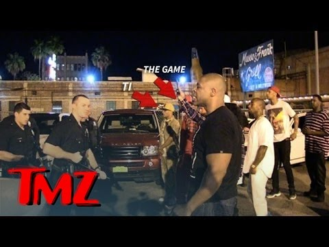 Game and T.I. In INTENSE Standoff