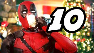 Deadpool 10 Funny Moments