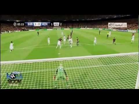 Барселона Милан 4-0 HD 13-03-2013
