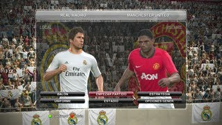 PES 2014 Gameplay Partido Rapido Completo Real Madrid Vs
